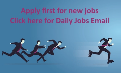 Apply first for new jobs