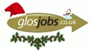 Christmas Logo GlosJobs