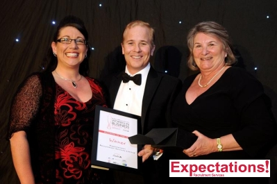 Expectations Recruitment in Business of the Year Award