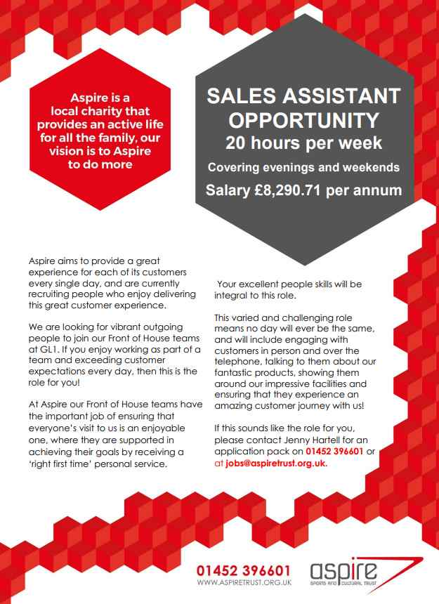role of sales assistant